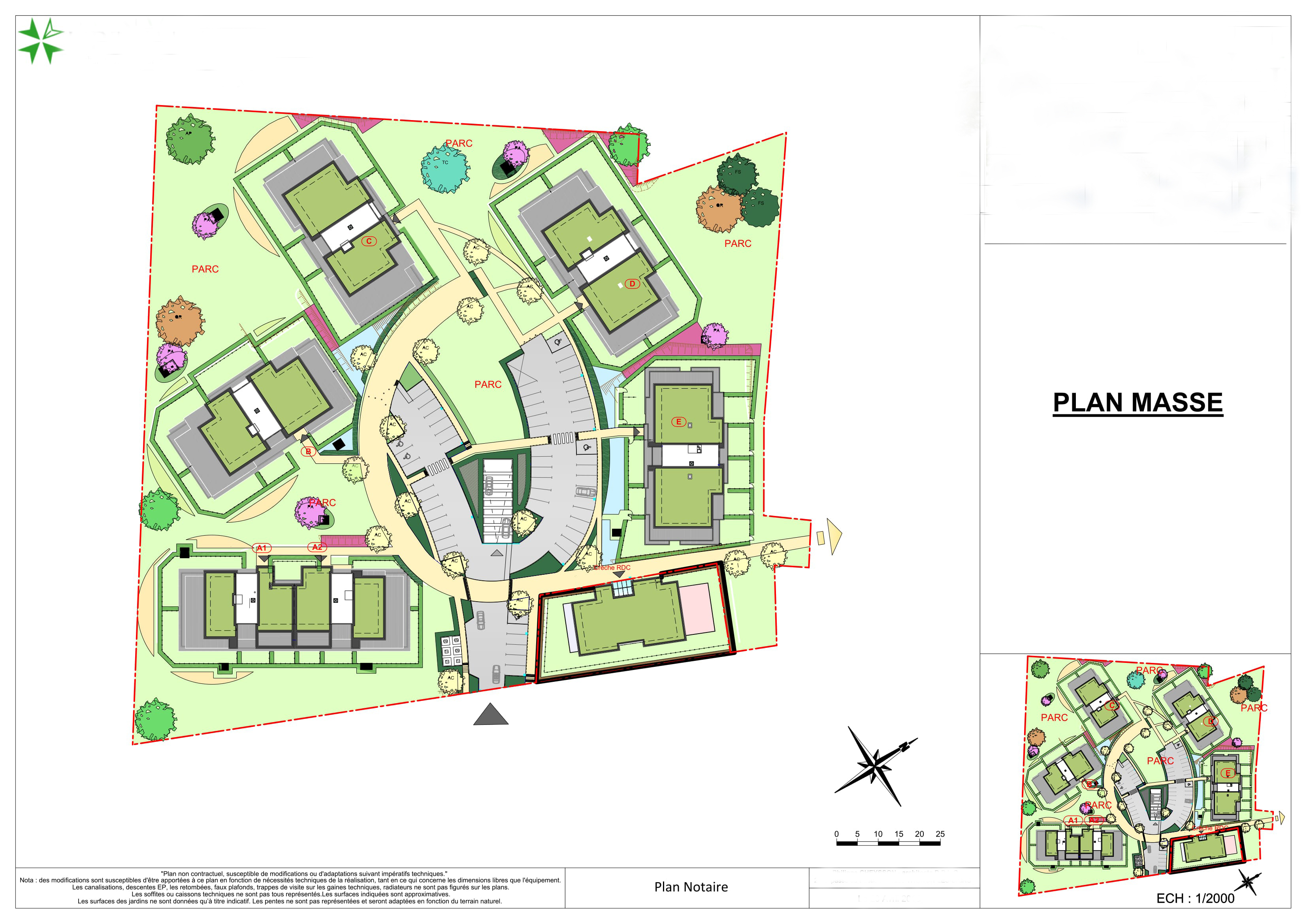 Master Plan: New-build apartments in Thoiry (FR) near Geneva